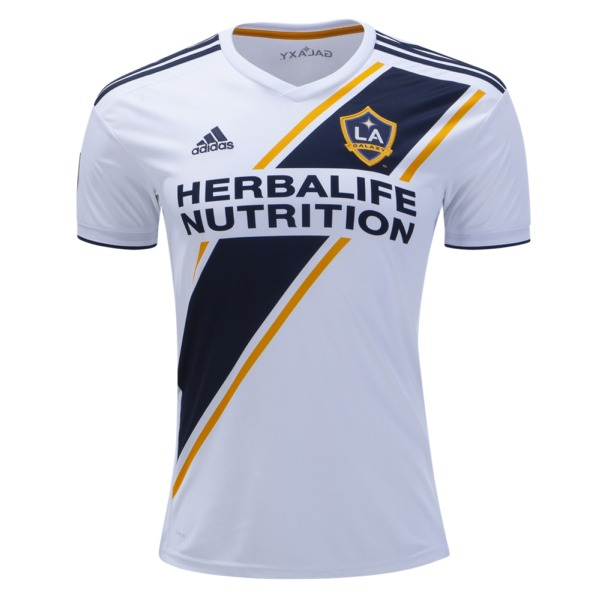 9db21a30a19 adidas Los Angeles Galaxy 2019 Official Home Youth Soccer Jersey - model  7416B