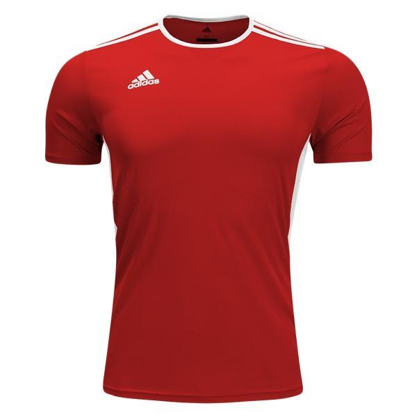 adidas Entrada 18 Soccer Jersey - model CF1035 - SoccerGarage.com