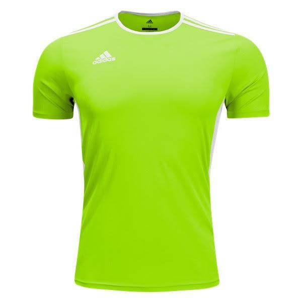 2944a62f5dc adidas Entrada 18 Soccer Jersey - model CF1035 - SoccerGarage.com