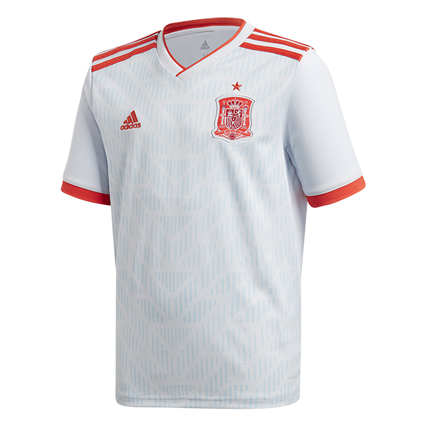 adidas Spain 2018 Official Away Youth Soccer Jersey - model BR2694 ...