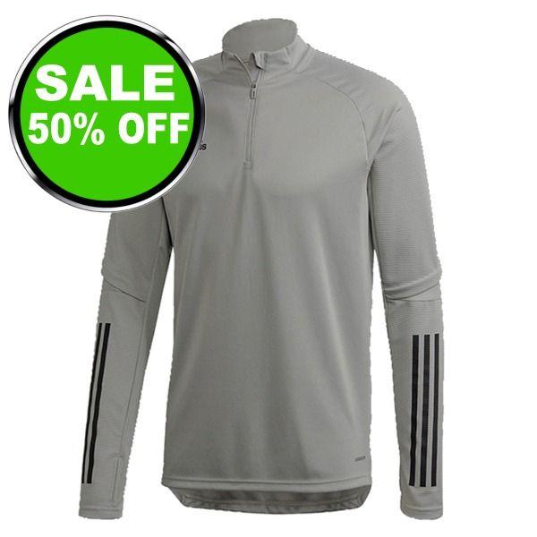 adidas Condivo 20 Grey/Black Training Top - model FS7117 is $30 (50% off)