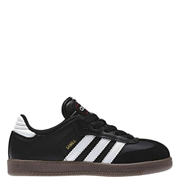 7fa90efcd5e adidas Samba Classic J Black Youth Indoor Shoes - model 036516