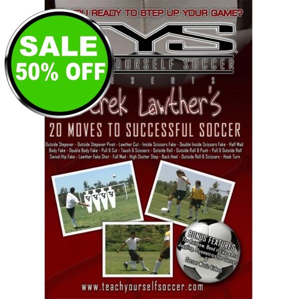 Teach Yourself Soccer Instructional Soccer DVD - model 37101 is $10 (50% off)