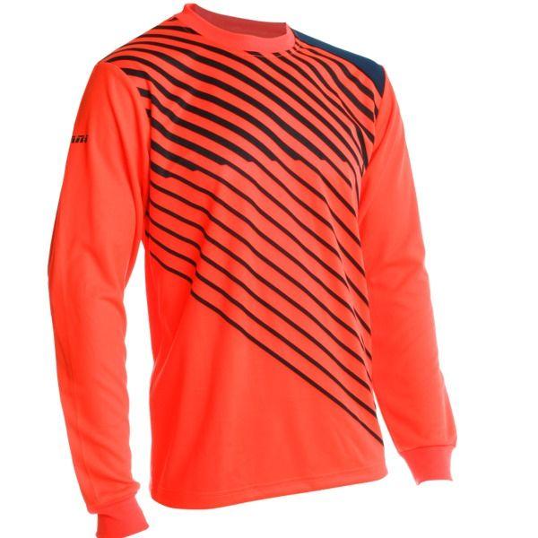ec98f0c900a Vizari Arroyo Orange Navy Blue Soccer Goalkeeper Jersey - model 60043