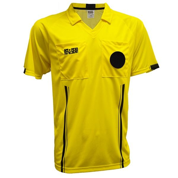 f5aae3167 RefGear Economy Yellow Referee Jersey - model 610SY