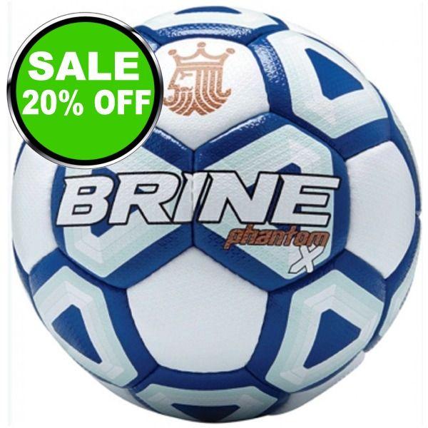 Brine Phantom X Royal Soccer Ball - model SBPHTMX7-RL is $52 (20% off)