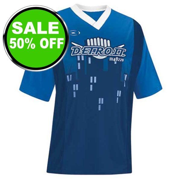 Xara City Series Detroit Soccer Jersey - model 1018DET is $13 (50% off)