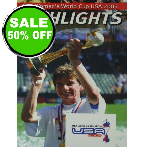 FIFA Women's World Cup USA 2003 Highlights - model LV0951 is $11 (50% off)