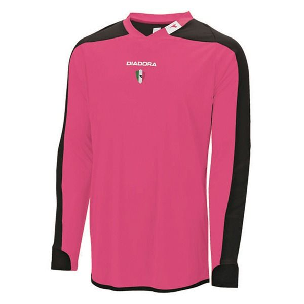 10cf9116a Diadora Enzo Hot Pink Long Sleeve Goalkeeper Jersey - model 993245-480