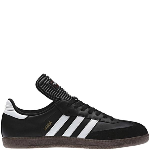 3a77b0976b5 adidas Samba Classic Black Indoor Shoes - model 034563