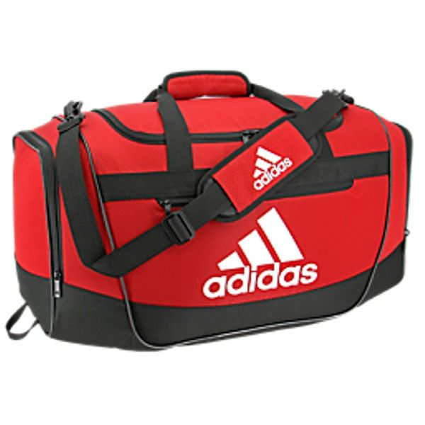 46b67e27fa3f adidas Defender III Large Red Duffel Bag - model 5143959
