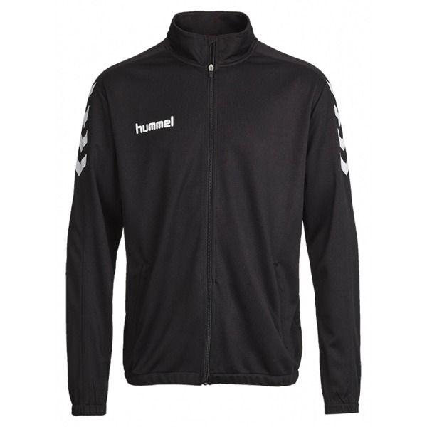 09030eb8f Hummel Core Poly Jacket Black Soccer Jacket - model 34000B