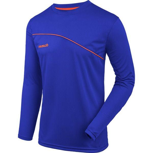 cbdb894a22f Reusch Match Prime Electric Blue Padded Long Sleeve Goalkeeper Jersey -  model 3811700-998