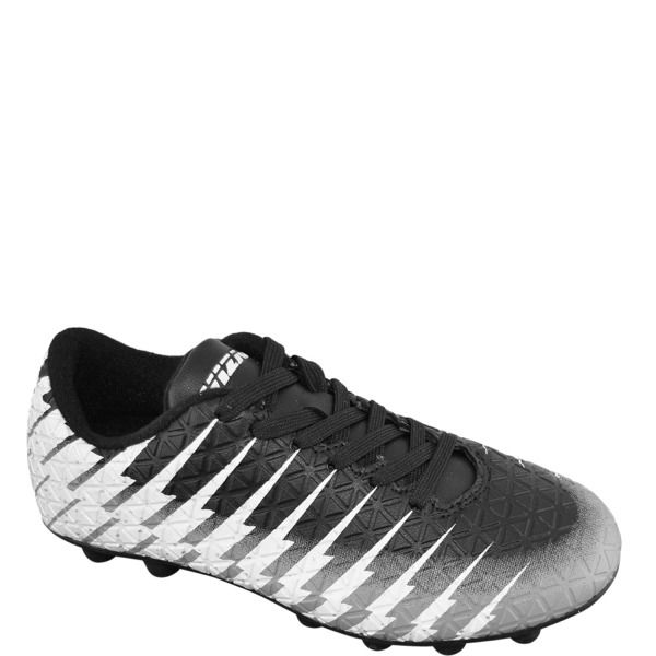 c2cf02d4817 Vizari Bolt FG Black White Silver Youth Firm Ground Soccer Cleats - model  93365