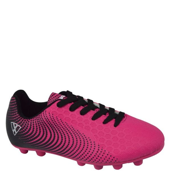 657c9b88838c Vizari Stealth FG Pink Black Youth Firm Ground Soccer Cleats - model 93354