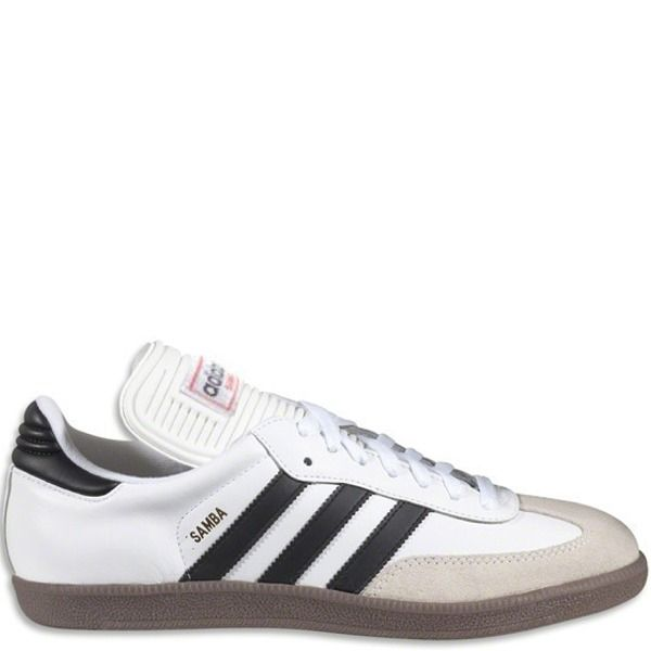 27a6a8140f54 adidas Samba Classic White Indoor Shoes - model 772109