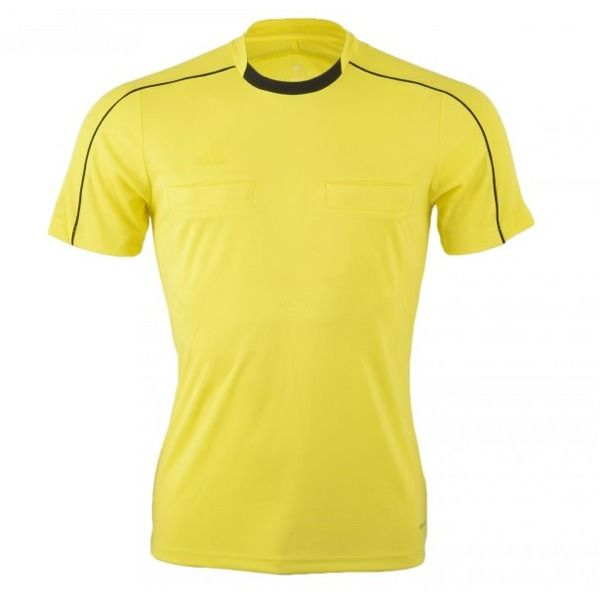 adidas Referee 16 Short Sleeve Yellow Jersey model AH9802