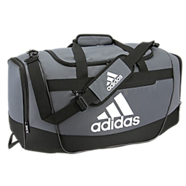 b2bef3d4e17a adidas Defender III Large Onix Gray Duffel Bag - model 5144002