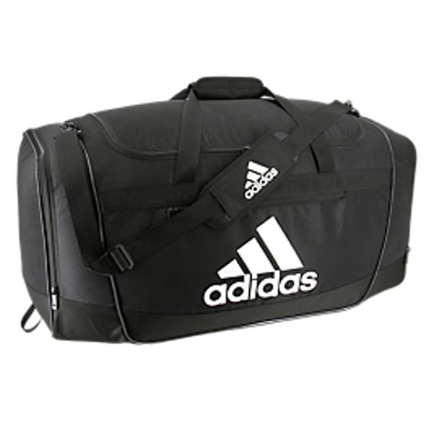 05f8ca635958 adidas Defender III Large Black Duffel Bag - model 5143953