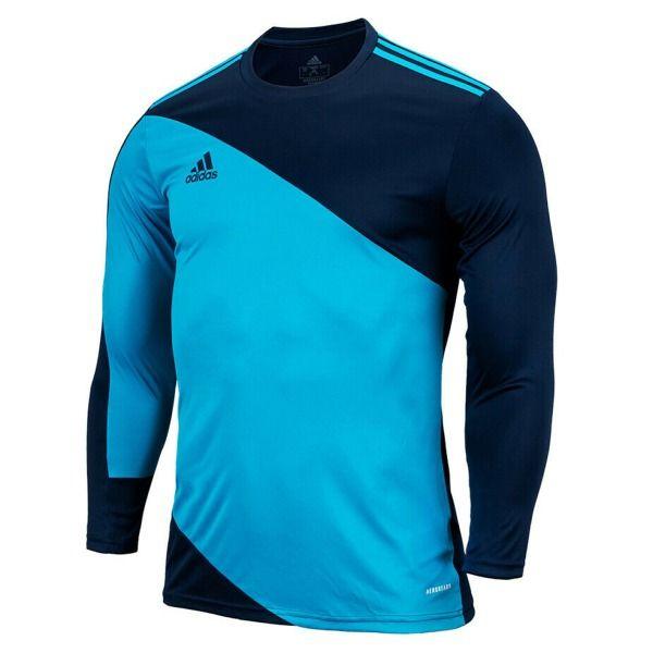 adidas Squadra 21 Navy/Aqua Goalkeeper Jersey - model GN6944 ...