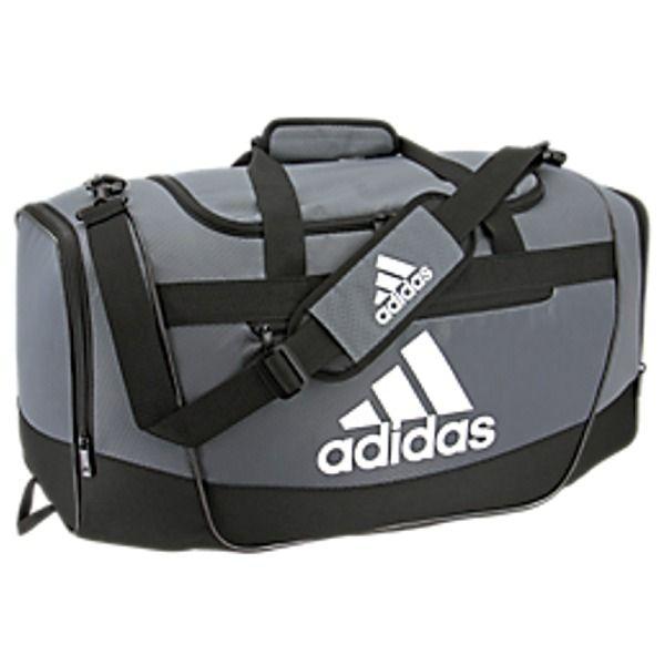 adidas Defender III Small Onix Gray Duffel Bag - model 5144036 ...