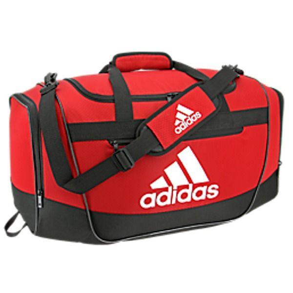 0eb8846f5237 adidas Defender III Small Red Duffel Bag - model 5144015