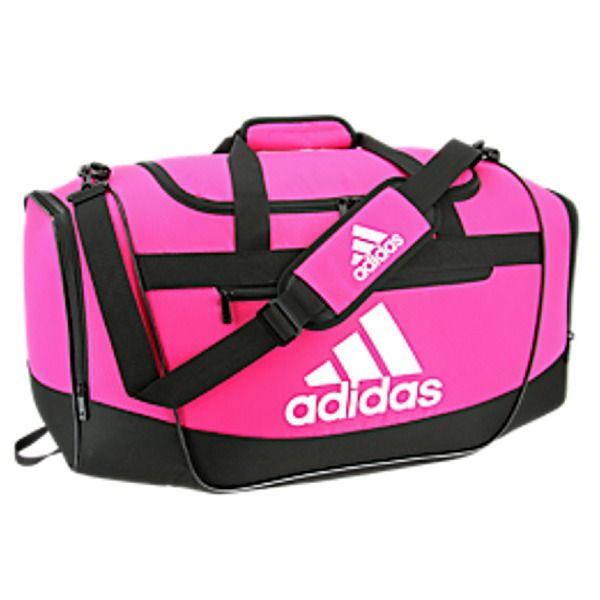 d2f3867a5a6a adidas Defender III Medium Shock Pink Duffel Bag - model 5144009