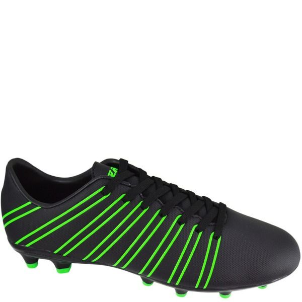 dccdc09cce9 Vizari Madero FG Black Green Firm Ground Soccer Shoes - model 93304