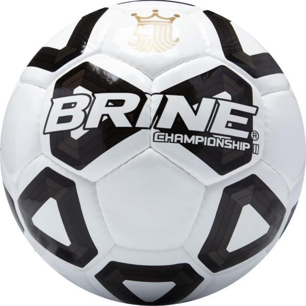 low priced b2e39 5b47a Brine Championship II Black Soccer Ball - model SBCHMP7-BK