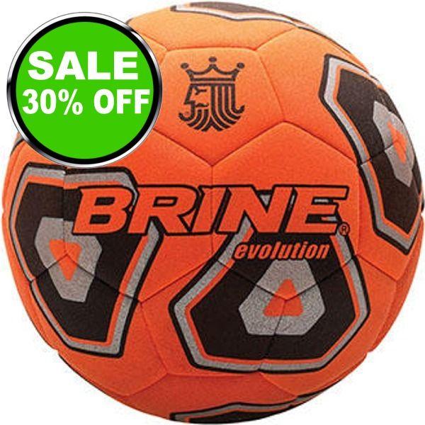 Brine Evolution Court Indoor Soccer Ball - model SBEVOCT6 is $21 (30% off)
