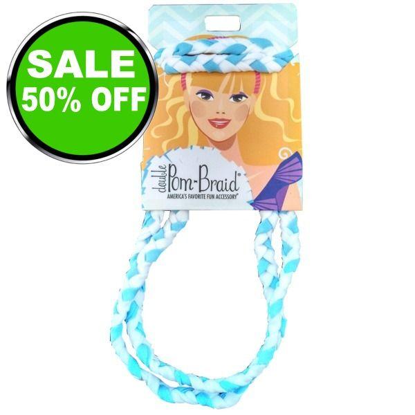 Braided Headband - model POMHB is $5 (50% off)