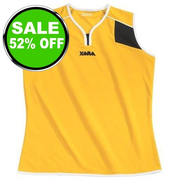 Xara Preston Sleeveless Women's Soccer Jersey - model 1173 is $20 (52% off)