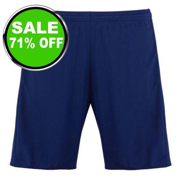 adidas miTastigo Navy/Orange Women's Soccer Short - model BR6846 is $10 (71% off)
