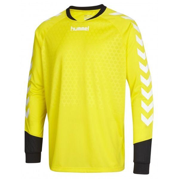1f5b36f9786 Hummel Essential Yellow Goalkeeper Soccer Jersey - model 04087U