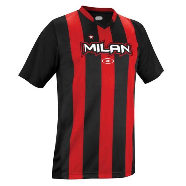 fac21008fef Xara AC Milan Champions II Soccer Jersey - model 1041MIL ...