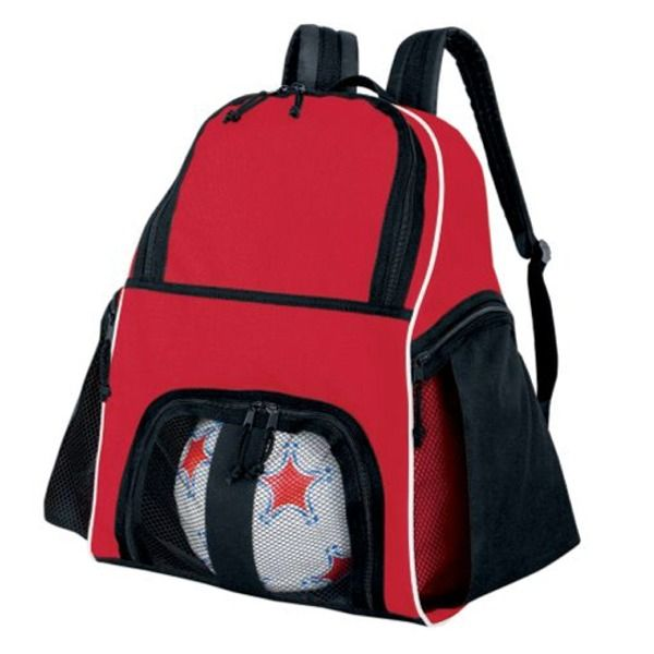 High Five Red Soccer Backpack Model 27850r