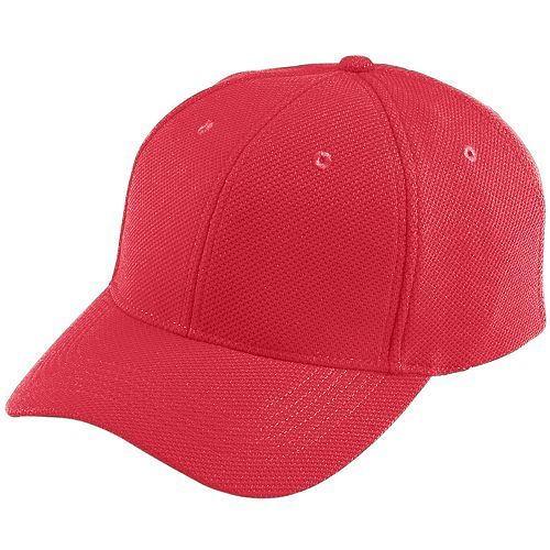 Adjustable Wicking Mesh Baseball Hat - model 6265h