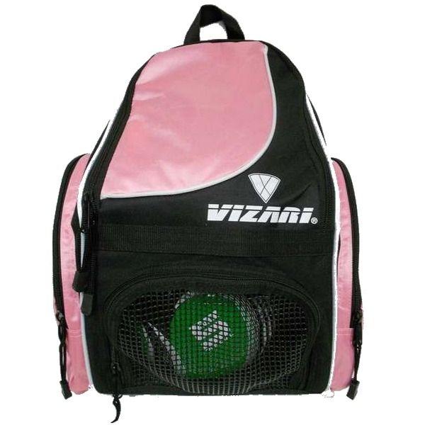 Vizari Solano Pink Soccer Backpack - model 30145 7a72550cb33e7